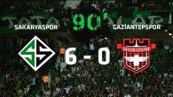 Sakaryaspor'dan gol yağmuru!