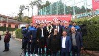 Sapanca'da Spor Kompleksine Dünya Şampiyonu Metehan Başar'ın ismi verildi.