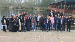 Çevre Mühendisliği Öğrencileri Acarlar Longozunu İnceledi