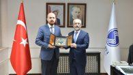 Bilal Erdoğan'dan Rektör Savaşan'a Hayırlı Olsun Ziyareti