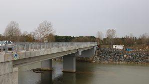 Arifiye'nin yeni köprüsünde çalışmalar tamamlandı