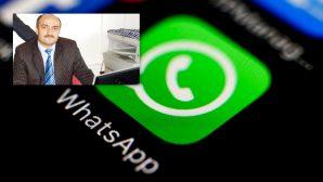 Eski Müdüre WhatsApp grubu yasaklandı!