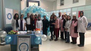 Toyotasa Acil Yardım Hastanesinde  Diyabet Günü standı kuruldu