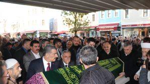 Sağlık Bakanı KOCA,Cenaze namazına katıldı.