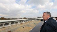 Başkan Toçoğlu,Arifiye'de yapımı devam eden 'Bölge Hali'ni inceledi