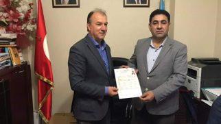 Mehmet Güli Eşit Arifiye Belediye Başkan aday adayı oldu