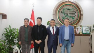 Anayasa Mahkemesinden Baro Başkanı BURAK'a ziyaret