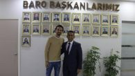 TUNCAY ŞANLI'DAN BARO BAŞKANI BURAK'A ZİYARET