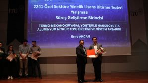 SAÜ Öğrencisi Akcan'a TÜBİTAK'tan Ödül