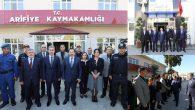 Vali Balkanlıoğlu'ndan Arifiye'de veda ziyaretleri