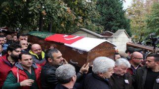 Karacan Son yolculuğuna uğurlandı