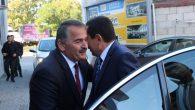Vali Balkanlıoğlu'nun,Başkan Karakullukçu'ya vedası
