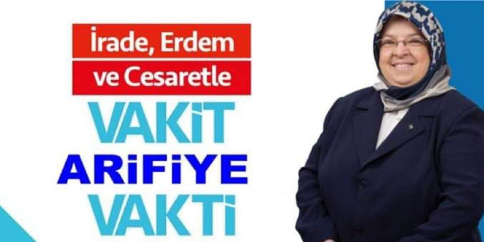 Vasfiye YILMAZ,ARİFBEY MAHALLESİ MUHTAR ADAYI