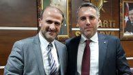 Önder KARAN Yeni İl BaşkanıTEVER'i Tebrik etti