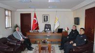 İlçe Emniyet Müdürü Güven Alan'dan Başkan Karakulukçu'ya ziyaret