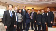 Sakarya Baro Başkanı Burak'tan, Metin Feyzioğlu'na ziyaret