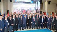 Ekrem Yüce;Türk Dünyası Mühendisler ve Mimarlar Birliği genel kuruluna katıldı.