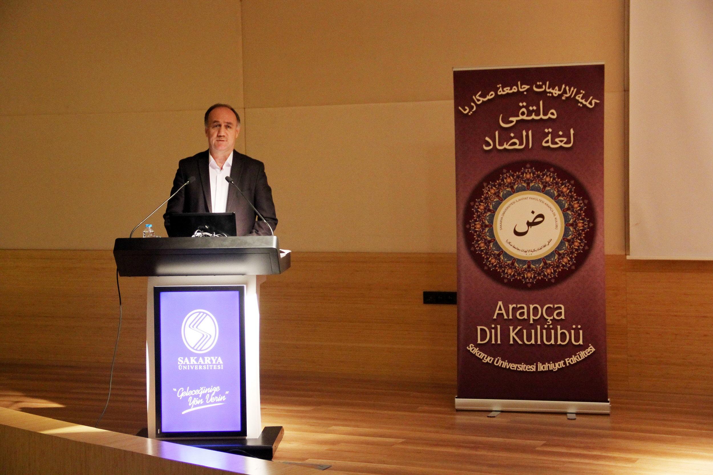 İlahiyat Fakültesi'nde Dünya Arapça Günü Etkinliği