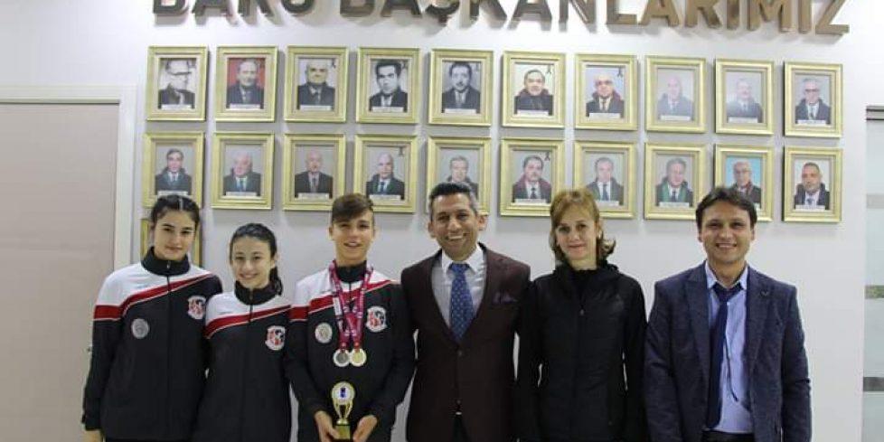ŞAMPİYONLAR'DAN BARO BAŞKANI AV. ABDURRAHİM BURAK'A ZİYARET