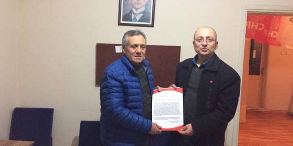 MUSTAFA KURU CHP ARİFIYE'DEN BELEDİYE MECLİSINE ADAY