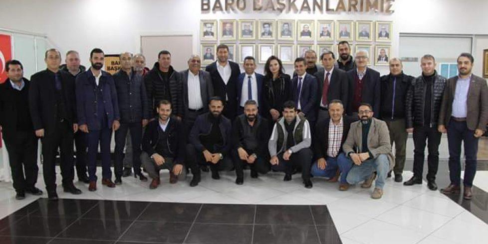 AĞRILILAR DERNEĞİNDEN BARO BAŞKANI BURAK'A TEBRİK ZİYARETİ