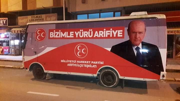 MHP Arifiye'nin Seçim Aracı hazır