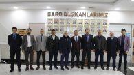 MÜSİAD'dan Baro Başkanı Burak'a Ziyaret