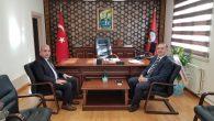 Vergi Dairesi Başkanı Ahmet ÇELİK'ten Kaymakamımıza Ziyaret