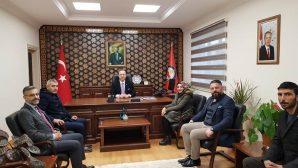 MHP Arifiye İlçeden Kaymakama Ziyaret
