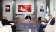Şehit Fethi Sekin'in babasından Milli Eğitim'e ziyaret