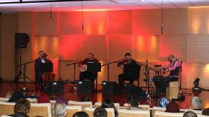 Şems Trio grubunun söyleşi ve dinleti programı gerçekleşti