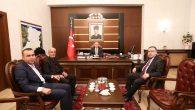 VALİ NAYİR ŞEHİT POLİS MEMURU FETHİ SEKİN'İN BABASINI AĞIRLADI