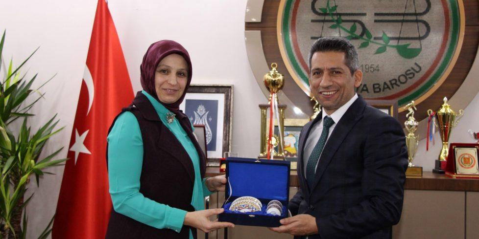 Durmuş'tan Başkan Burak'a ziyaret