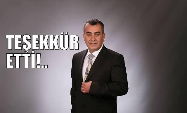 Ak Parti Belediye Başkan Aday Adayı Nurettin SUBAŞI'dan açıklama