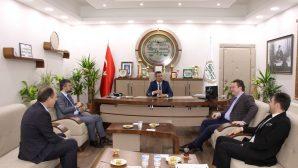 Bülbül'den Başkan Burak'a ziyaret
