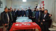 Arifiye'de CHP ve Saadet Partisi yerel seçimler için fikir alışverişinde bulundu