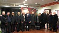 Ak Parti İl Başkanı TEVER'e İlçemizden hayırlı olsun ziyareti