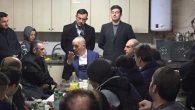 Türk-İş Genel Başkanı Ergün Atalay,Yeni yıla Sakarya'da işçilerle birlikte girdi.