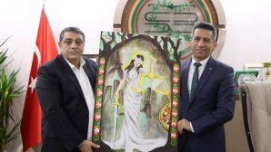 SATSO 21. Meslek Komitesinden Baro Başkanı Burak'a ziyaret