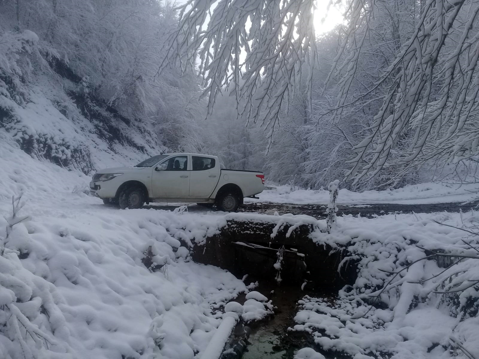 Zor kış şartlarına rağmen tarım destekleniyor