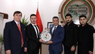Baro Başkanı Burak'a hayırlı olsun ziyaretleri