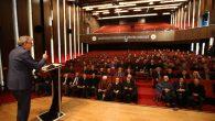 Başkan Adayı Ekrem Yüce, Asker Hafız Mehmet Eren Hocaefendi'yi Anma programına katıldı.