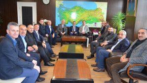 Arifiye AK Parti İlçe ve Belediye Meclis Üyelerinden Yıldırım Kaymakamı YAZICI'ya ziyaret
