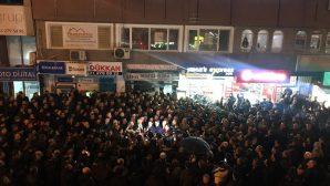 CHP MilletvekillerindenTank Palet eylemine destek