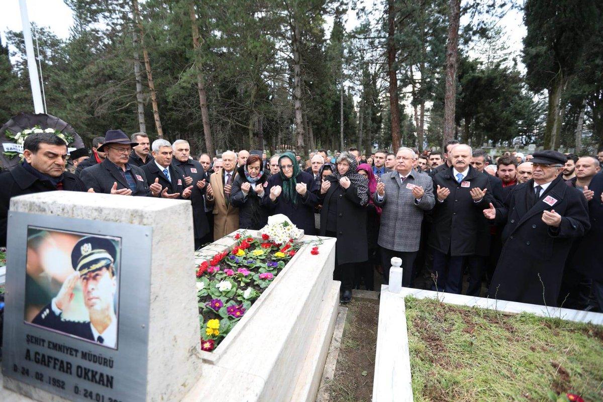 Şehit Emniyet Müdürü Ali Gaffar Okkan gözyaşları ile anıldı