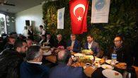 Başkan Adayı Ekrem Yüce, Sakarya Ağrılılar Derneği Üyeleri ile kahvaltıda buluştu