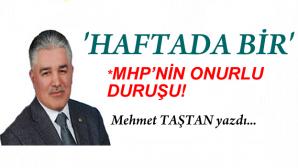 """"""" MHP'nin kaybettiğini zannedenler """""""