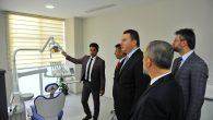Diş Hekimliği Fakültesi Uygulama ve Araştırma Merkezi Açıldı