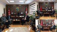 İlçe Kaymakamımız Bekir Dınkırcı'ya tebrik ziyaretleri devam ediyor