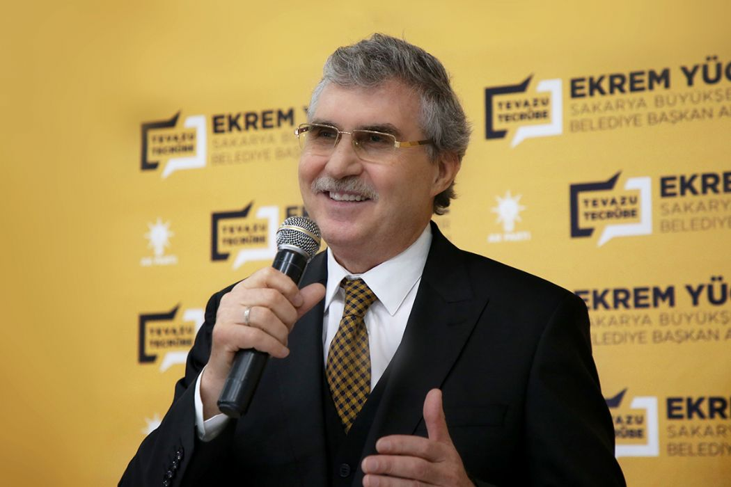 """Büyükşehir Belediye Başkan Adayı Ekrem Yüce, """"AK Parti belediyeciliği üst aşamaya çıkacak """""""